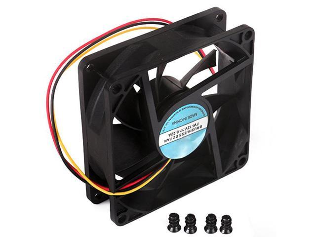 New Case Fan DC 12V PC Computer CPU 3Pin Cooler Cooling 80mm x 80mm x 25mm
