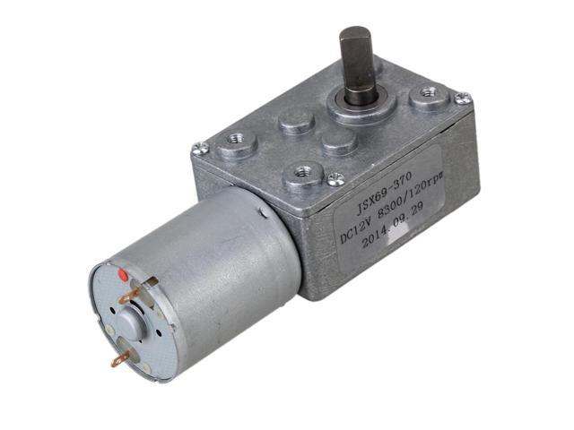 12v 120rpm worm turbo gear motor right angle gear dc motor for Right angle dc motor