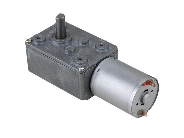 Bqlzr 12v 46rpm Worm Turbo Gear Motor Right Angle Gear Dc