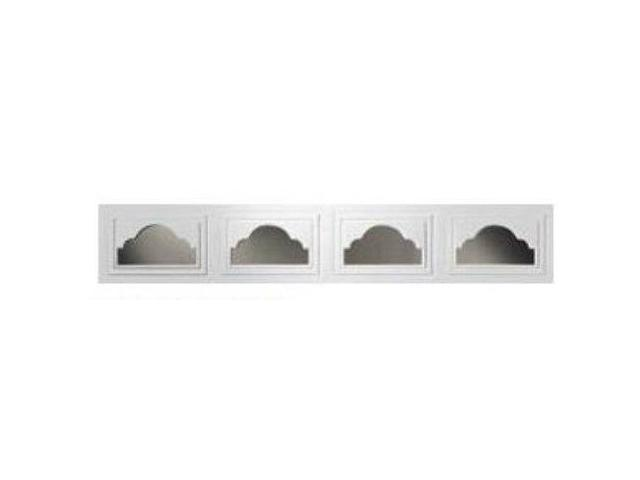 Clopay Cathedral Short 1 Pc Window Inserts White