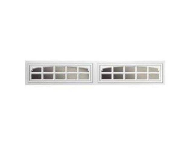 Clopay Charleston Long 1 Pc Window Inserts Almond