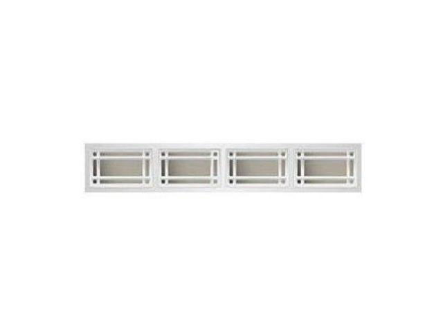 Clopay prairie short 1 pc window inserts almond for Clopay window inserts