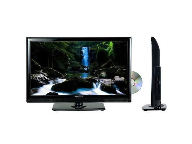 """AXESS TVD1801-24 24"""" LED AC/DC TV with DVD Player Full HD with HDMI, SD card"""