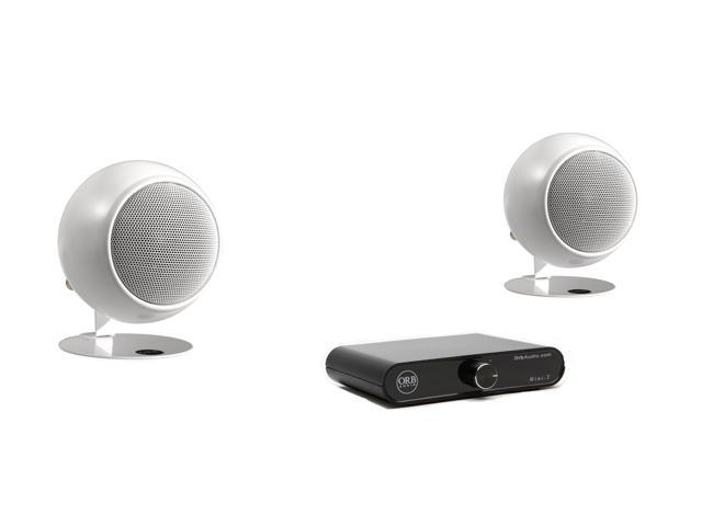 Orb Audio Amplifier & Speaker Combo - White