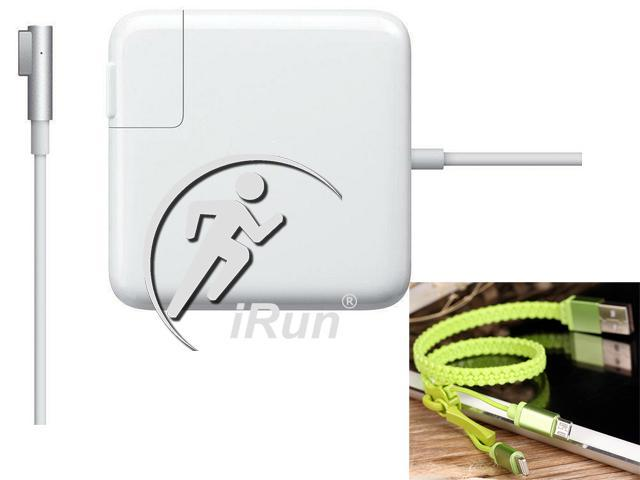 iRun® Apple A1286 A1343 85W 18.5V 4.6A AC Magsafe Adapter ADP-85EB TESTED  90°-Connector