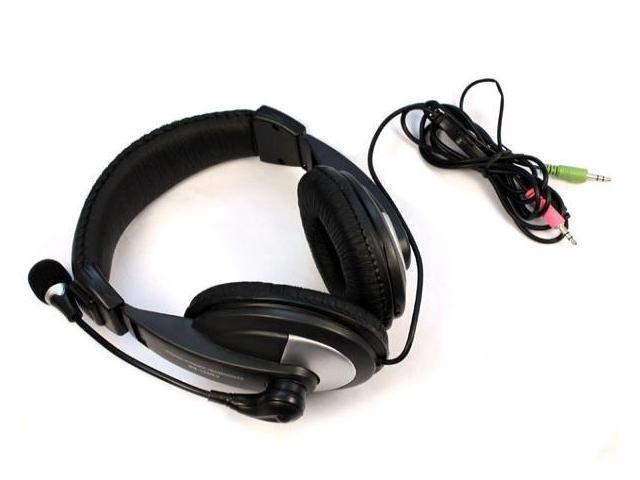 New SM-750 3.5mm Headphone/Headset Microphone for PC Laptop/Notebook