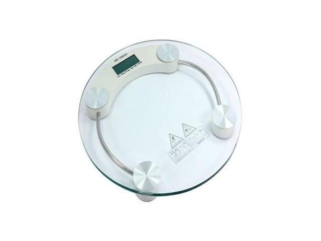 NEW Digital LCD Glass Weight Body Bathroom Health Scale