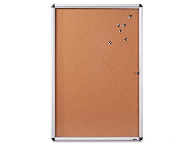 Lorell Enclosed Cork Bulletin Board - 36