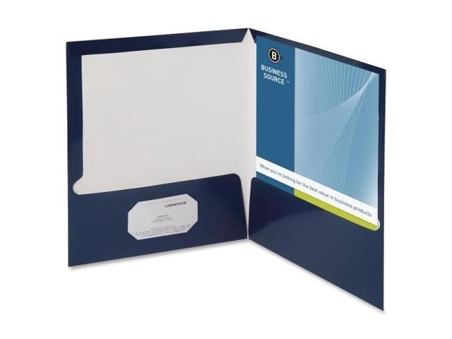 Two Pocket Folder Ltr 2-Pkts 100 Shts 25/BX NY