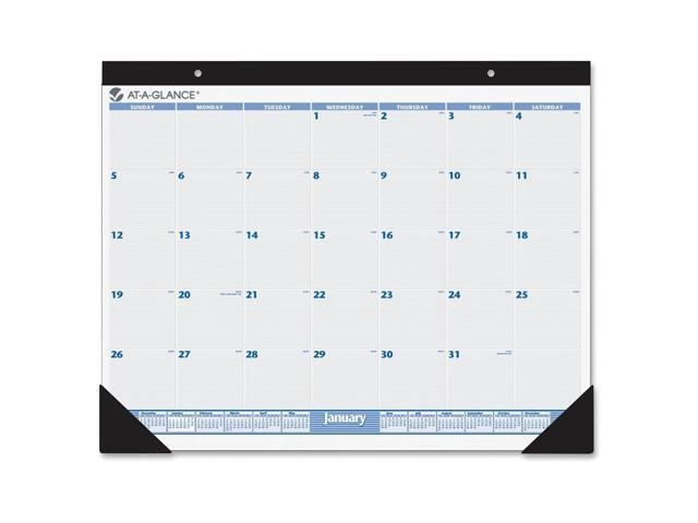 Calendar May Sia : At a glance months desk pad calendar monthly quot