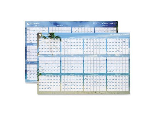 Year Calendar Sia : Tropical wall calendar erasable month jan dec quot x