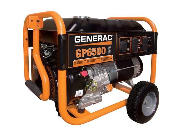 5976 GP6500 Watt Portable Generator