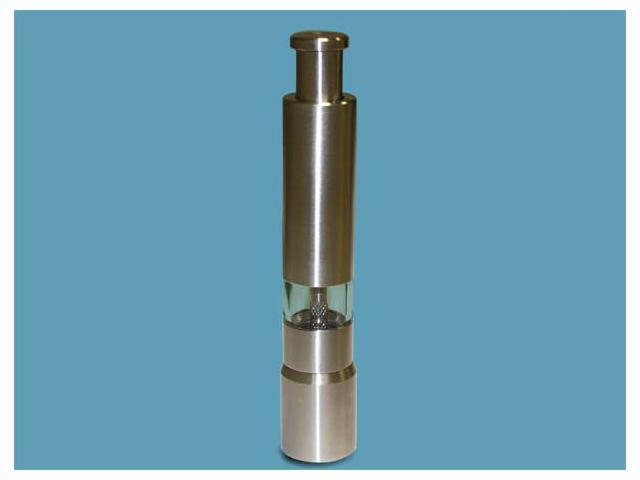 Stainless Steel Pepper Mill - 6-in. Tall