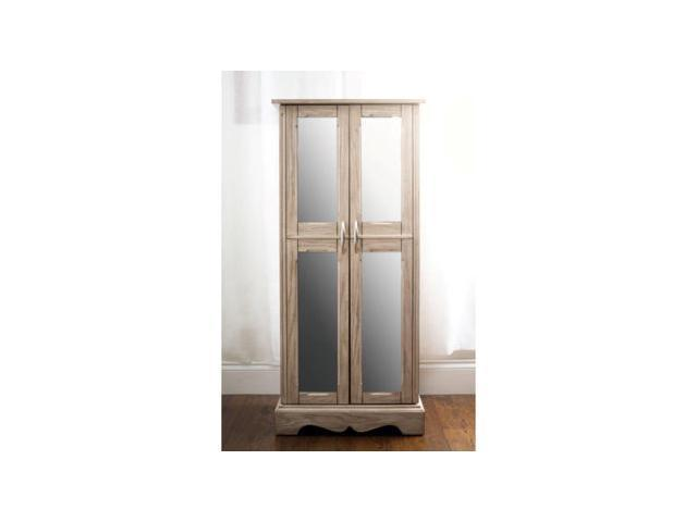 Chelsea Jewelry Armoire - Grey Mist Finish by Hives and Honey