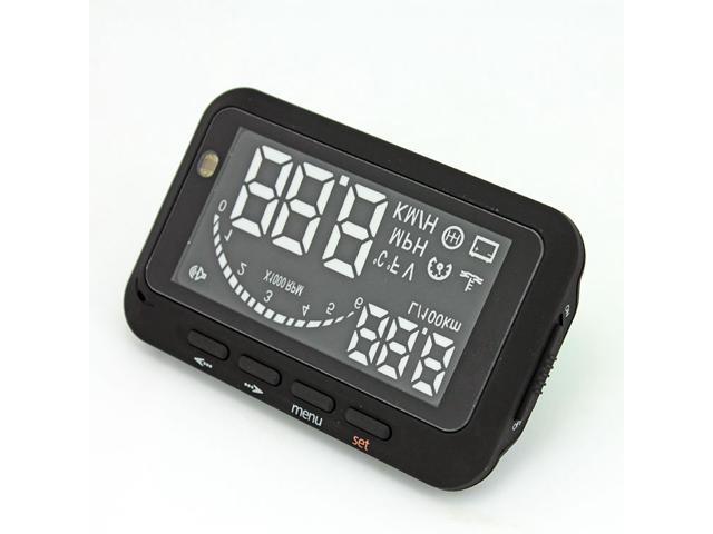 Head Up Display Universal Car HUD II  system with color LED HUD Over Speeding Warning for Most Car has OBD II