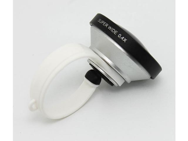 F40 Universal Clip Mobile Phone Lens Super Wide 0.4x Wide-angle Lens Camera Lens For iPhone HTC Samsung Cell phone