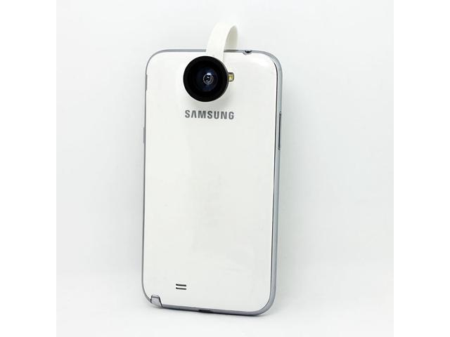 Mobile Phone Camera H8002 180 Degree Clip Fish Eye Lens Detachable Fish Eye Lens for iPhone Samsung HTC