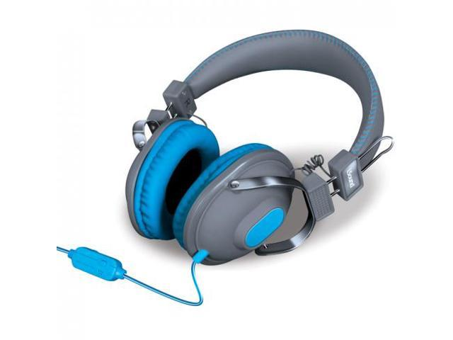 HM-260 Dynamic Stereo Headphones with Microphone - Grey/Blue