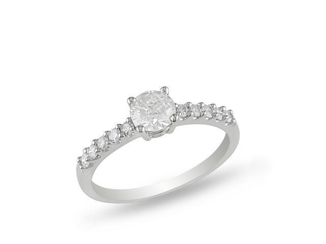 14k White Gold 3/4ct TDW Diamond Engagement Ring (H-I, I2-I3)