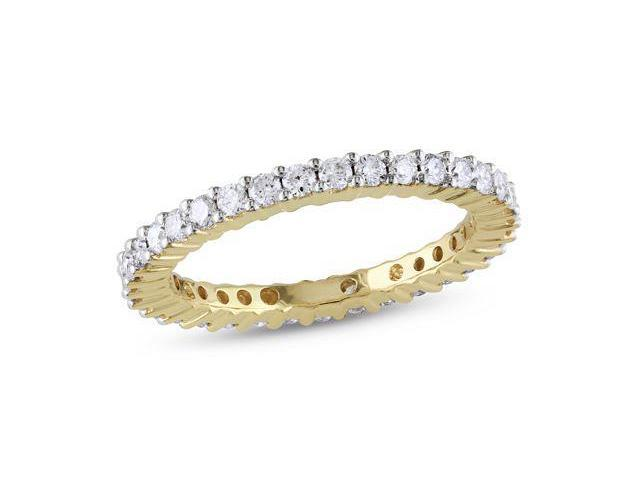 14k Yellow Gold 1ct TDW Diamond Eternity Ring (G-H, I1-I2)