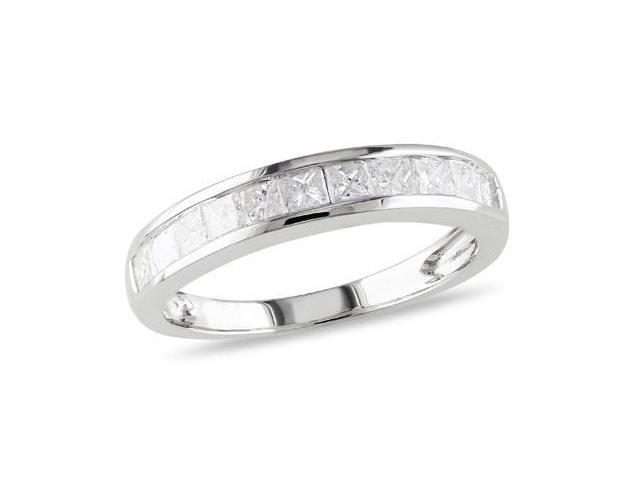 14k White Gold 3/4ct TDW Diamond Eternity Ring (H-I, I2-I3)