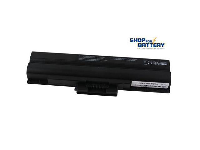 SONY VAIO VGN-NS140E/W laptop battery. Shopforbattery 6 cells 4400mAh premium compatible battery pack for SONY VAIO VGN-NS140E/W laptop. (Black)