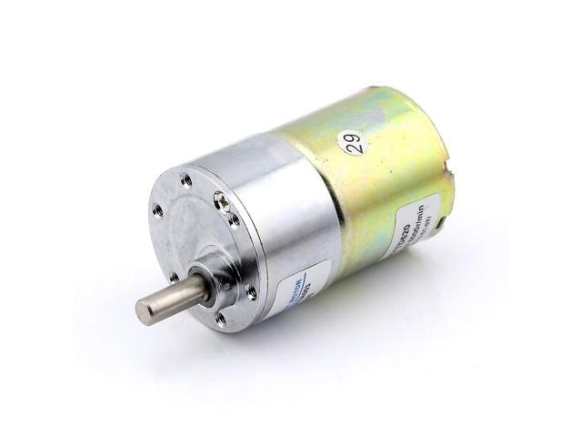 12v Dc 200 Rpm Gear Box Motor 5000r Min