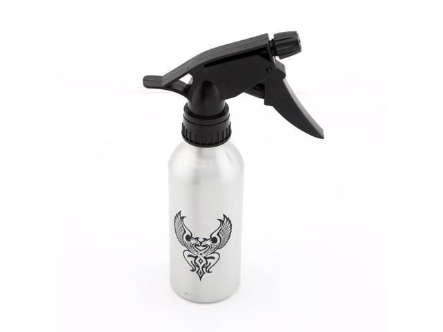 250ml Aluminum Tattoo Squeeze Spray Bottle Silvery