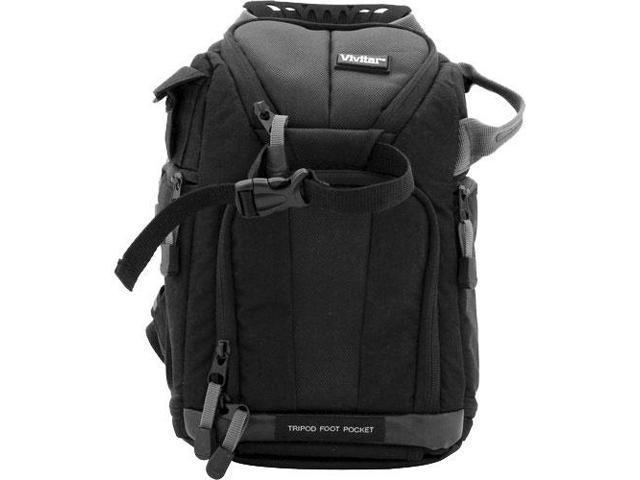 Vivitar Series One Digital SLR Camera/iPad Sling Backpack - Small (Black)