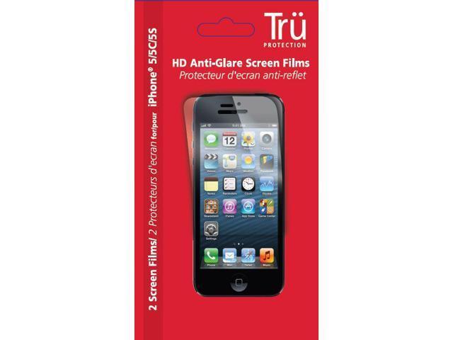 TRU1004 Anti Glare Film Set iPhone 5/5S/5C