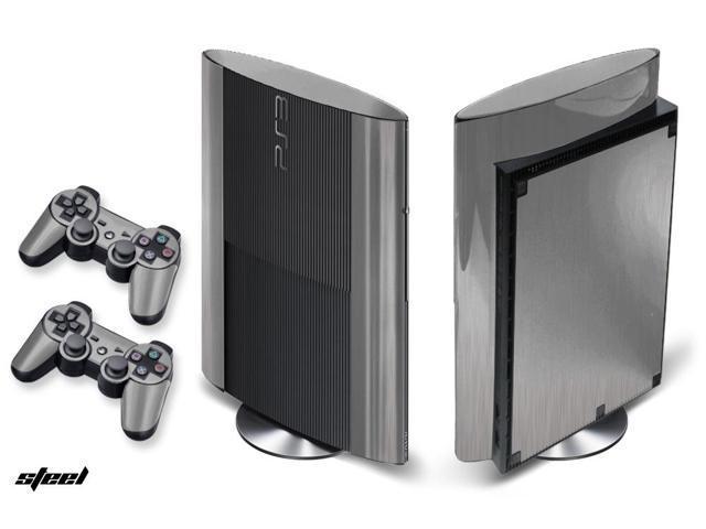 Sony PS3 Super Slim Console Skin plus 2 Controller Skins ...
