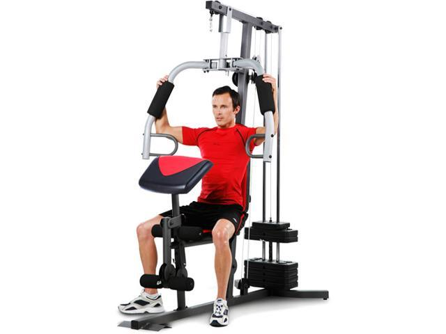Weider lb stack home gym newegg