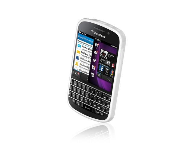 BlackBerry Q10 Classic Series White Gel-Skin