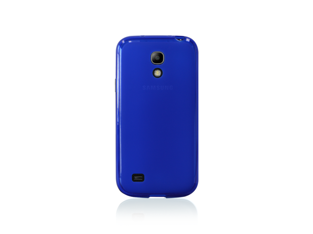 Samsung Galaxy S4 Mini Blue Gel-Skin