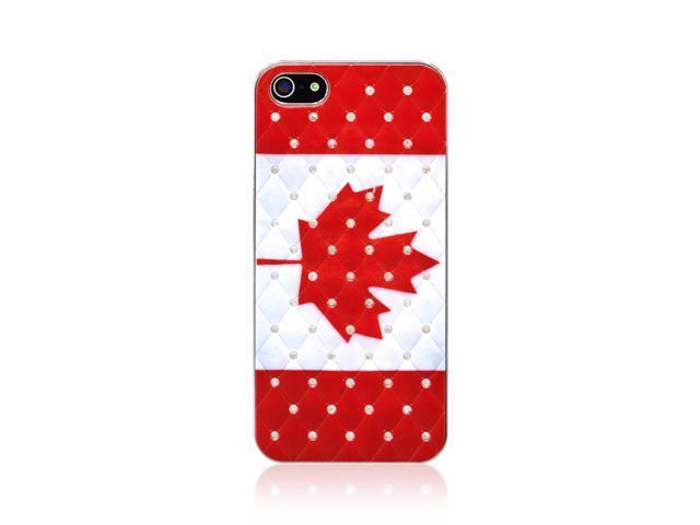 iPhone 5/5S Diamond Canada Hard Shell