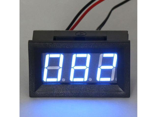 "0.56""  Blue LED 0-167°F Fahrenheit Digital Temperature Thermometer Measurement Temp Panel Meter"