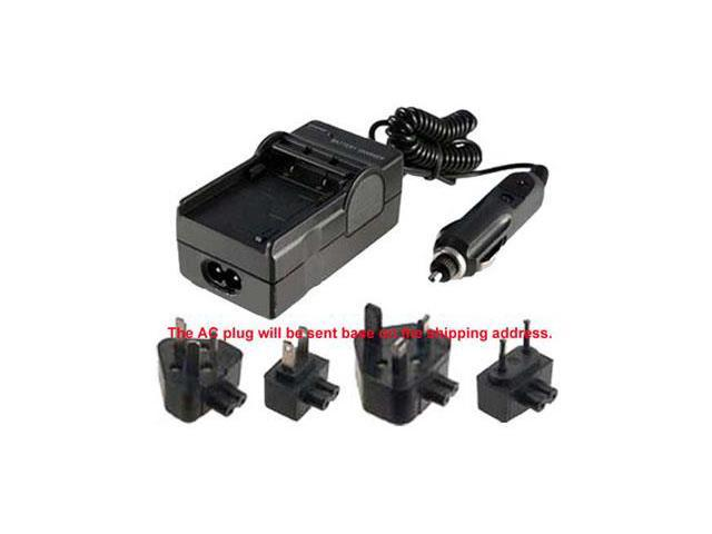Battery Charger for SAMSUNG SC-X300L SC-MM10 SC-MM10S Digital Video Camera AC+DC
