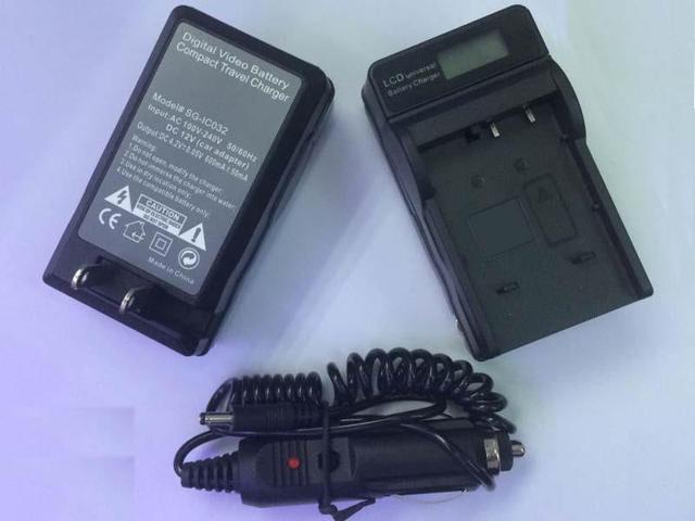 BLS-1 Battery Charger with LCD display for OLYMPUS PEN E-P1 E-P2 E-PL1 E-PL2 E-PL3 Digital Camera