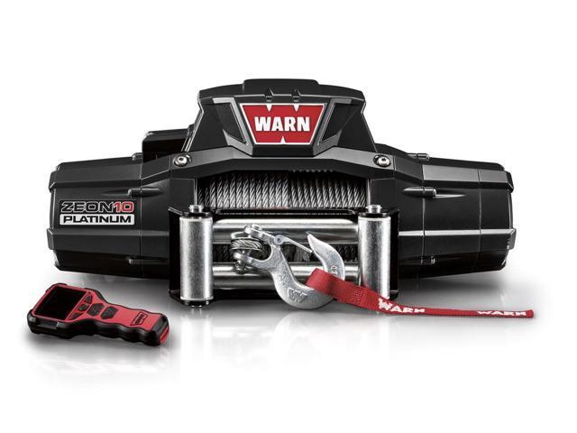 Warn 92810 ZEON Platinum 10 Winch10000 lb./4536 kg. Single Line Roller Fairlead