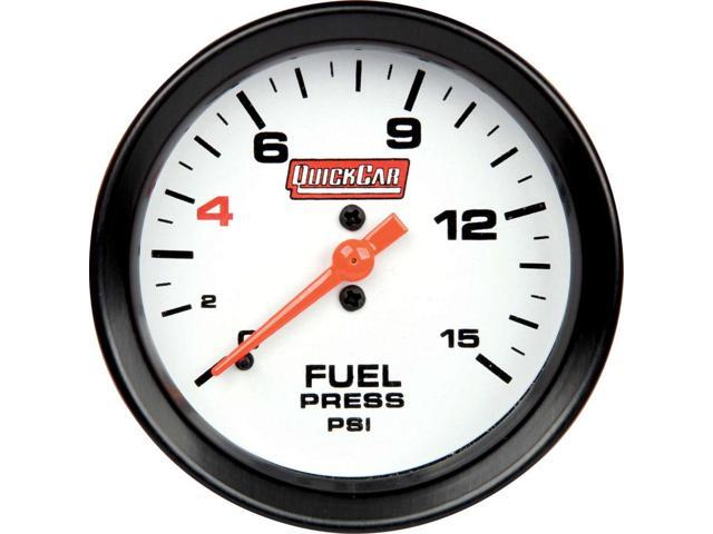 Quickcar Racing Products 611-7000 Extreme Gauge Fuel Pressure