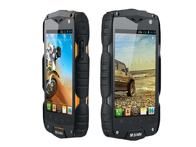 IP68 Mann ZUG3 Qualcomm Dual core Waterproof Dustproof Shockproof Rugged Phone Android4.0 GPS AGM Smartphone Black