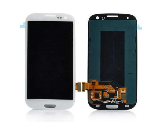 LCD Screen with Touch Screen Digitizer Replacement For Samsung Galaxy S3 I9300 I535 I747 L710 T999 R530 - White