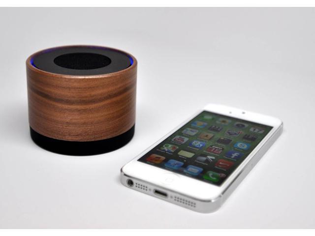 ALTAZ natural wood single Bluetooth speaker