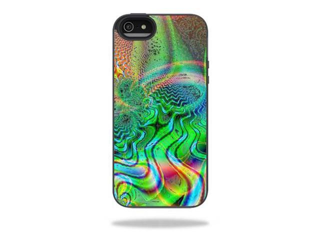 Mightyskins Protective Vinyl Skin Decal Cover for Belkin Grip Candy Sheer iPhone 5-5S Case wrap sticker skins Psychedelic