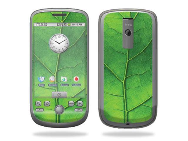 ... HTC myTouch 3g T-Mobile Cell Phone wrap sticker skins u2013 Green Leaf