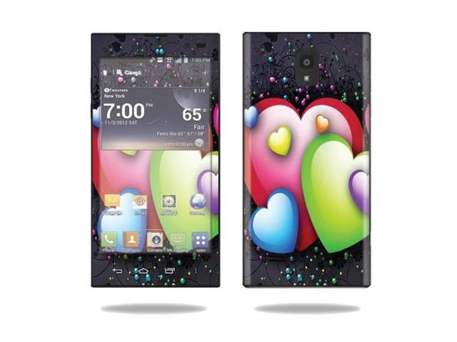 LG phone cases for lg spectrum : ... Decal Cover for LG Spectrum 2 Cell Phone wrap sticker skins Love Me