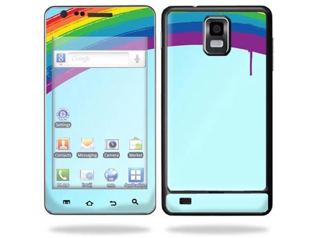 ... Samsung Infuse 4G Cell Phone wrap sticker skins i997 ATu0026T - Rainbow