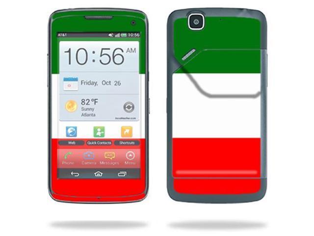 ... for Pantech Flex P8010 Cell Phone ATu0026T wrap sticker skins Italian Flag