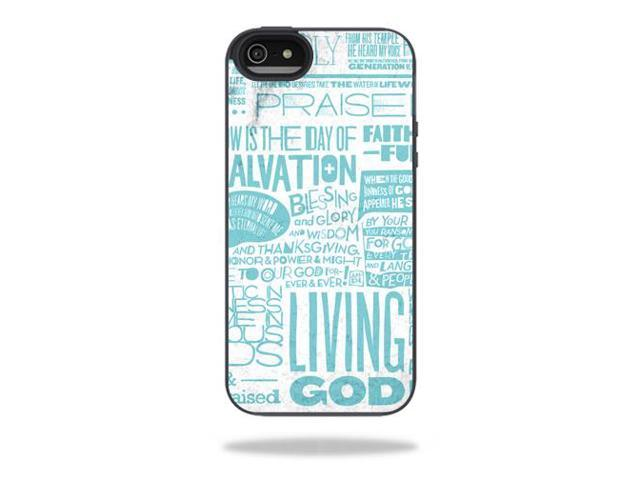 Mightyskins Protective Vinyl Skin Decal Cover for Belkin Grip Candy Sheer iPhone 5-5S Case wrap sticker skins Faith