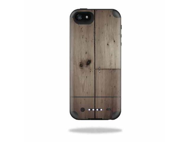 Mightyskins Protective Vinyl Skin Decal Cover for Mophie Juice Pack Air iPhone SE/5s/5 Apple iPhone SE/5s/5 Battery Case wrap sticker skins Wooden